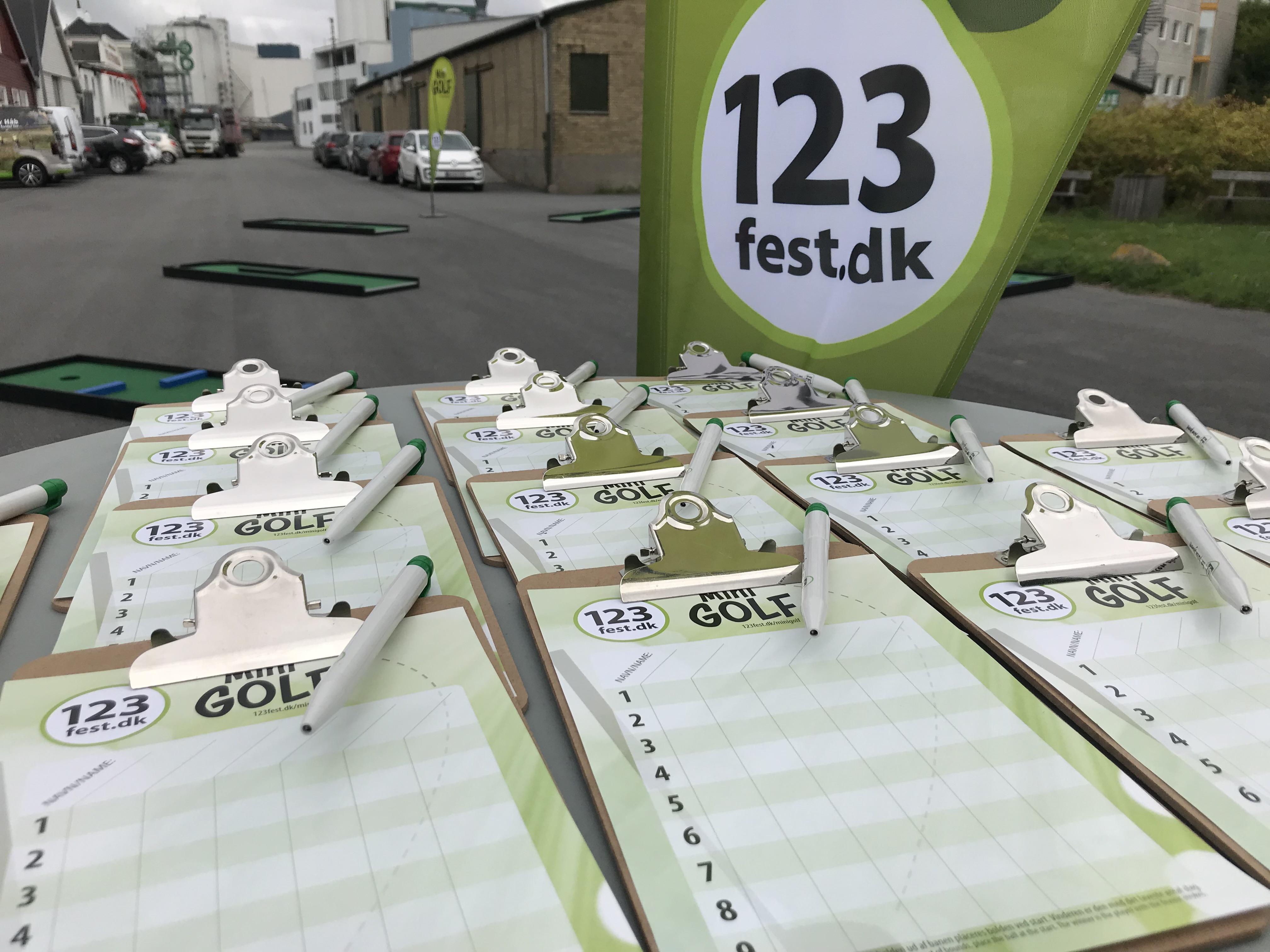 Minigolf event Dok5000 i Odense